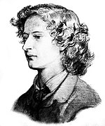 Algernon Charles Swinburne sketch
