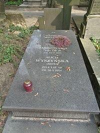 Alicja Wyszyńska grób.jpg