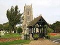All Saints Church and lychgate, Brightlingsea.jpg