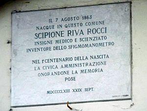 Scipione Riva-Rocci - Place of birth Riva-Rocci