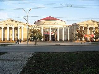 Almetyevsk City in Tatarstan, Russia