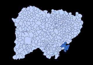 Alto Tormes Comarca in Castile and León, Spain
