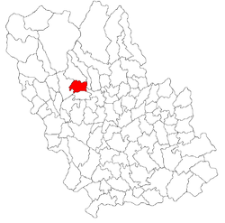 Location of Aluniş, Prahova