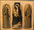 Alvise vivarini, madonna col bambino, ss. francesco e bernardino, 1485, Q53.JPG