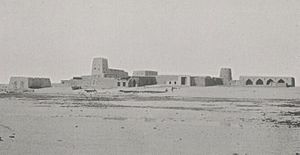 Al Wakrah - Al Wakrah fort in 1908.