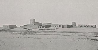 Al Wakrah - Al Wakrah fort in 1908.