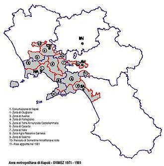Naples metropolitan area - Image: Am napoli 6