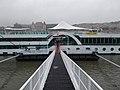 Amadeus (ship, 1997) at the International pier 7, 2019 Ferencváros.jpg