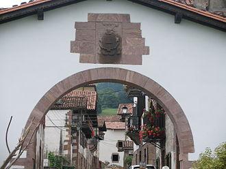 Amaiur-Maya - Entrance to Maya