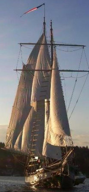 Amazing Grace (ship) - Amazing Grace Bow