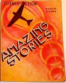 Un numéro du magazine de science-fiction Amazing Stories.
