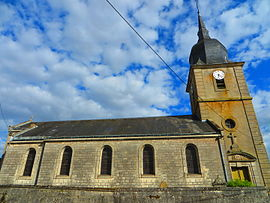 The church in Ambly-sur-Meuse