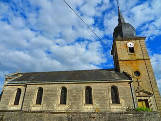 Ambly-sur-Meuse - The church in Ambly-sur-Meuse
