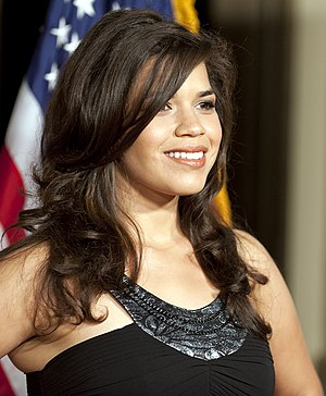 America Ferrera - Ferrera at the 2010 Voice Awards.