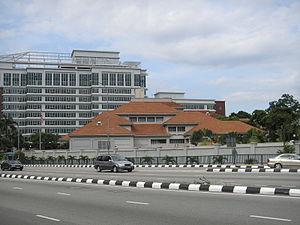 Malaysia–United States relations - The United States embassy in Kuala Lumpur