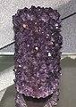 Amethyst after calcite (Santino Mine, Artigas, Uruguay) (30323704822).jpg