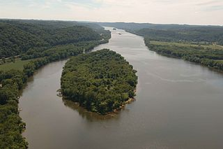 Ohio River Islands National Wildlife Refuge Park in the United States of America