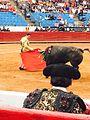An der Plaza Mexiko Stierkampf 3.jpg