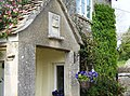 An owl carving over doorway - geograph.org.uk - 447771.jpg