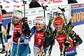 Anaïs Bescond (FRA) & Kaisa Mäkäräinen (FIN) & Laura Dahlmeier (GER) (29161890447).jpg
