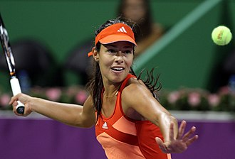 Khalifa International Tennis and Squash Complex - Image: Ana Ivanovic Qatar Open