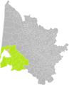 Andemos-les-Bains (Gironde) dans son Arrondissement.png