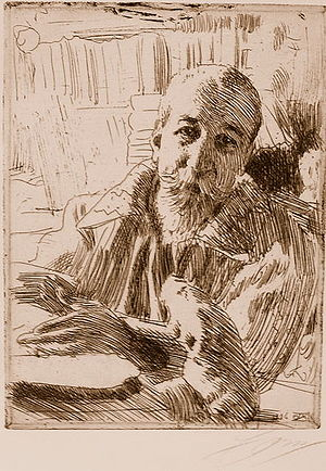 Anders Zorn - Anatole France