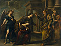 Andrea Vaccaro - Raguel's Blessing of her Daughter Sarah before Leaving Ecbatana with Tobias - Google Art Project.jpg