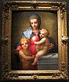 Andrea del sarto, madonna col bambino e san giovannino, olio su tv, 87,5x68,6, coll privata londra.JPG