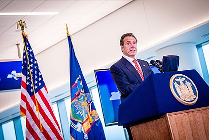 Andrew Cuomo speaks at opening of new LGA terminal 2019.jpg