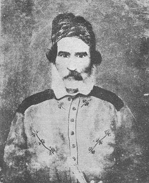 Ángel Vicente Peñaloza - Portrait of Peñaloza, c. 1863.