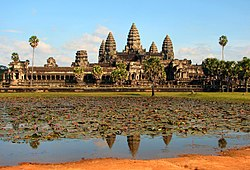 The main complex at Angkor Wat