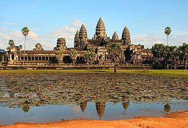 Khmer architecture wikipedia the 12th century temple of angkor wat is the masterpiece of angkorian architecture constructed under the direction of the khmer king suryavarman ii malvernweather Choice Image