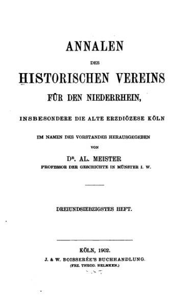 File:Annalen des Historischen Vereins für den Niederrhein 73 (1902).djvu