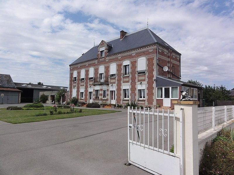 Annois (Aisne) château