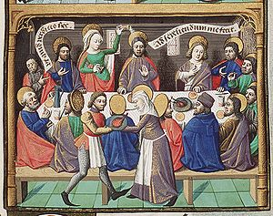 "Anointing of Jesus/ From Augustine's ""La ..."