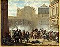 Anonymous - Prise du château d'eau, place du Palais-Royal, le 24 février 1848. Actuel 1er arrondissement. - P972 - Musée Carnavalet.jpg