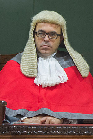Chief Justice of Gibraltar - Incumbent Chief Justice of Gibraltar Anthony Dudley