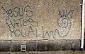 Anti-Christian graffiti.jpg