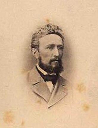 Anton Eduard Kieldrup - Anton Eduard Kieldrup  (early 1860s)