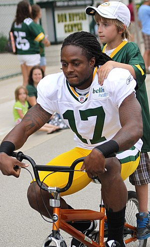 Antonio Robinson - Robinson with the Packers in 2011