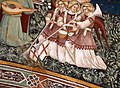 Antonio vite, gloria di san francesco, 1390-1400 ca. 10 angeli musicanti 5.jpg