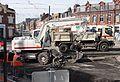 Anzin & Valenciennes - Travaux de raccordement des lignes A & B du tramway de Valenciennes à la Croix d'Anzin le 13 août 2013 (47).JPG