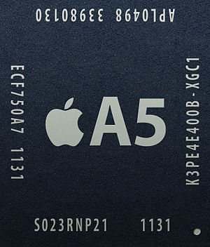 Apple A5 - Image: Apple A5 Chip