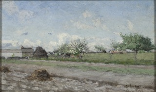 Apple Tree in Flower. Motif from Barbizon