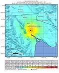 April 2010 Baja California aftershock intensity USGS.jpg