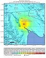 April 2010 Baja California aftershock intensity USGS.jpg