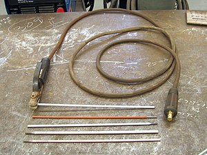 Arc welding electrodes and electrode holder.triddle.jpg