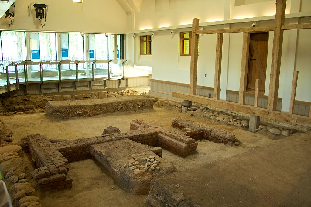 File:Archeology museum at the St. Johns-Site on campus of ...