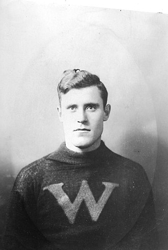 Archie McLean (ice hockey) - Archie McLean in 1912 with the New Westminster Royals